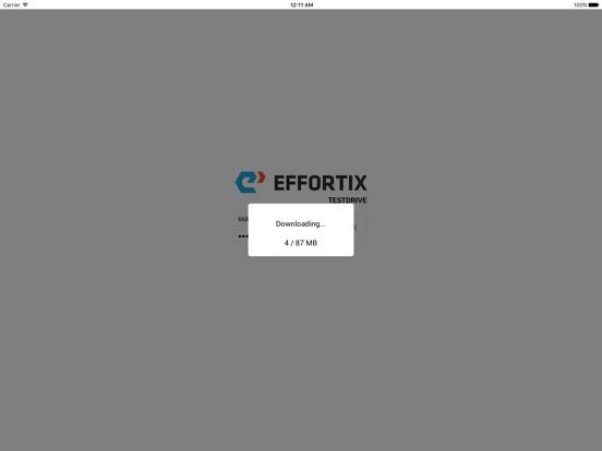 0805ed29e45 ... Screenshot  3 for Effortix TestDrive ...