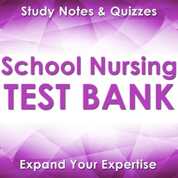 School Nursing Exam Review App-2400 Q&A Flashcards