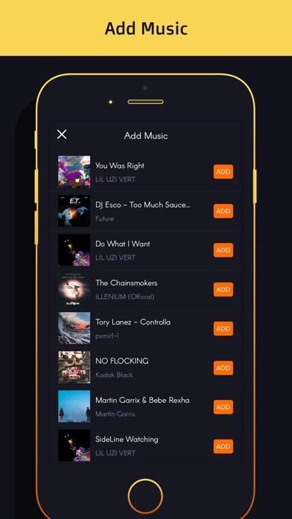 Video editor-slow motion,slideshow,add music video screenshot-4