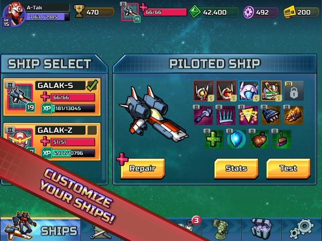 GALAK-Z: Variant Mobile Screenshot