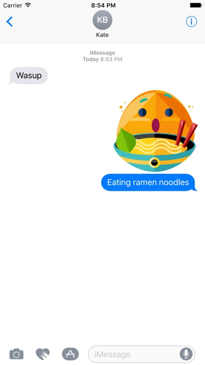 Potato Boy Emoji Stickers for Messages screenshot-3