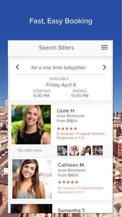 UrbanSitter: Find Babysitters screenshot-3