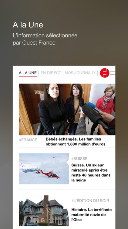 Ouest France screenshot-0