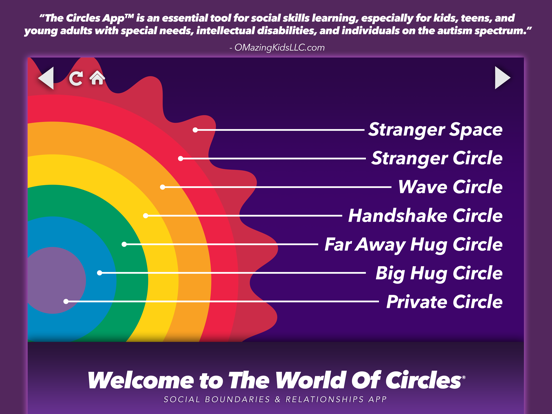 Circles Social Skills Utility screenshot one