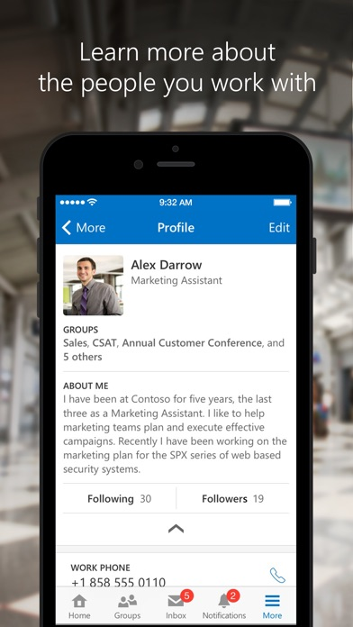Yammer ScreenShot2