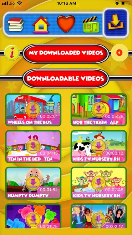 Kids ABC TV Nursery Rhymes screenshot-3