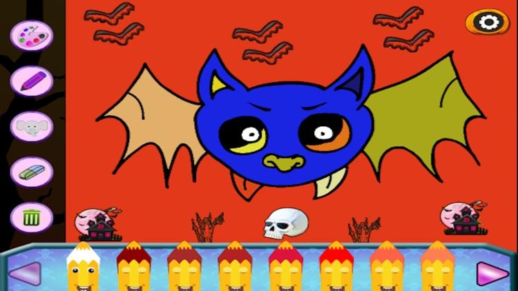 Halloween Drawing For Kids screenshot-4