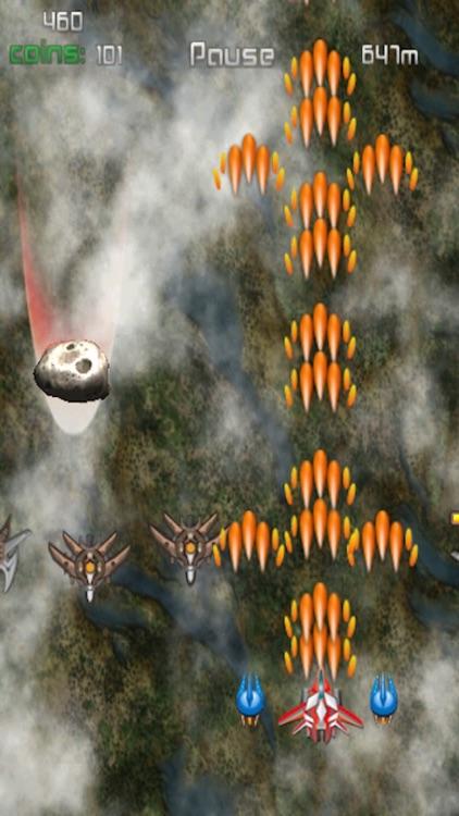 Infinite Space Shooting fighter game (free) - hafun screenshot-4