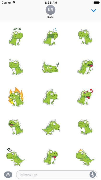 Dynosaur Stickers