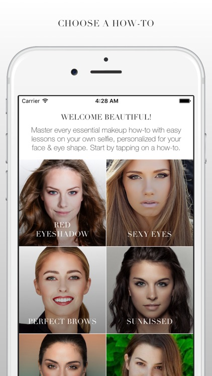 MAP MY BEAUTY - makeup tutorials on your selfie