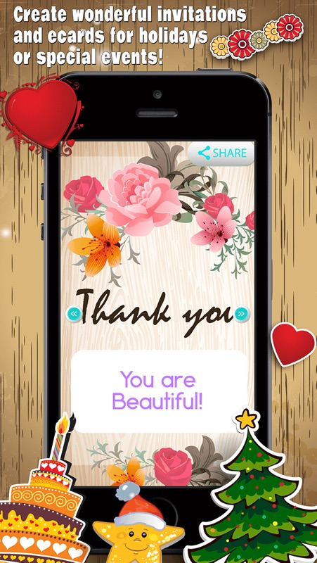Greeting cards maker creator for all occasions online game hack greeting cards maker for all occasions lets you create wonderful invitations and ecards for holidays or special events download this free greeting card m4hsunfo