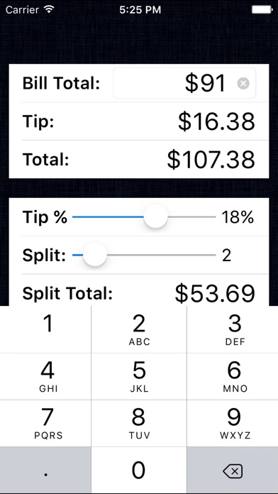 Tip Calculator % Free - Fast Tips and Split Bills for Windows