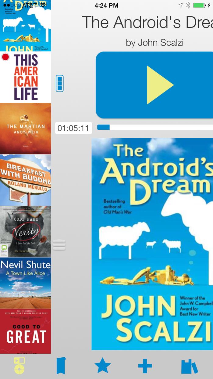 Bookmobile Audiobook Player Screenshot