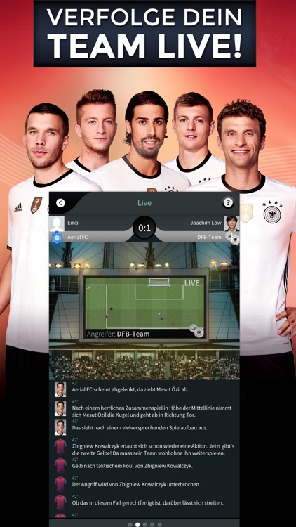Goal One - DFB Fußball Manager screenshot-1