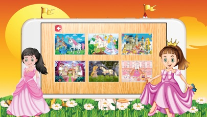 Princess Pony Jigsaw Puzzle for Toddlers and Girl screenshot two