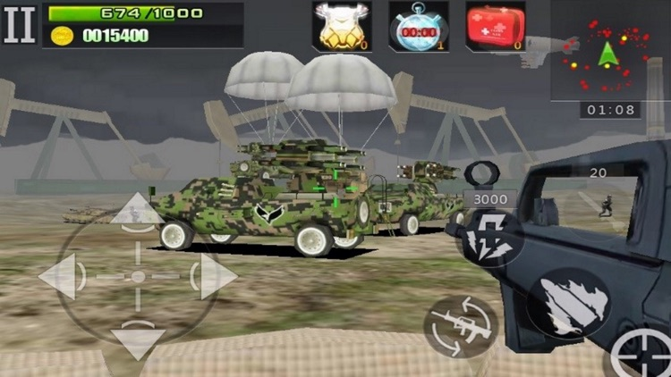 The Last Defender 3D-Modern Defense War screenshot-3