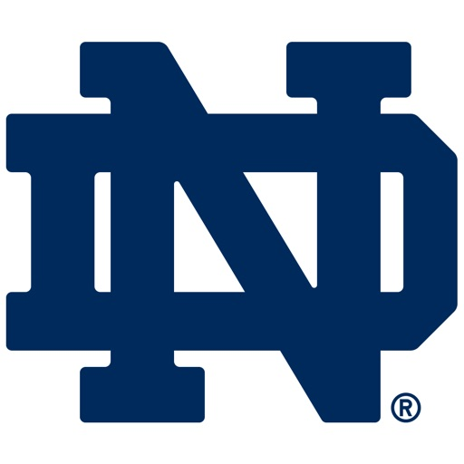 Notre Dame University Stickers for iMessage
