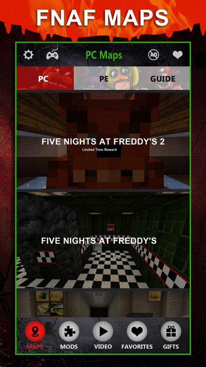 FNAF Maps Pro - Map Download Guide for Five Nights At Freddys Minecraft PE & PC Edition