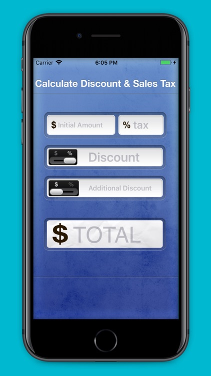 Calculate Discount & Sales Tax screenshot-3