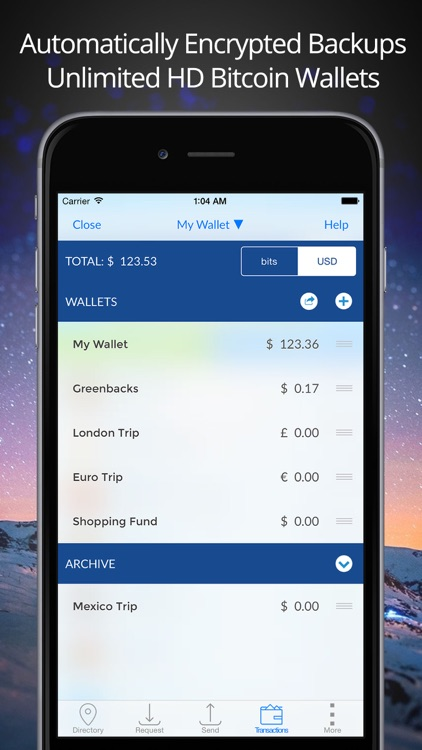 Airbitz - Bitcoin Wallet screenshot-2