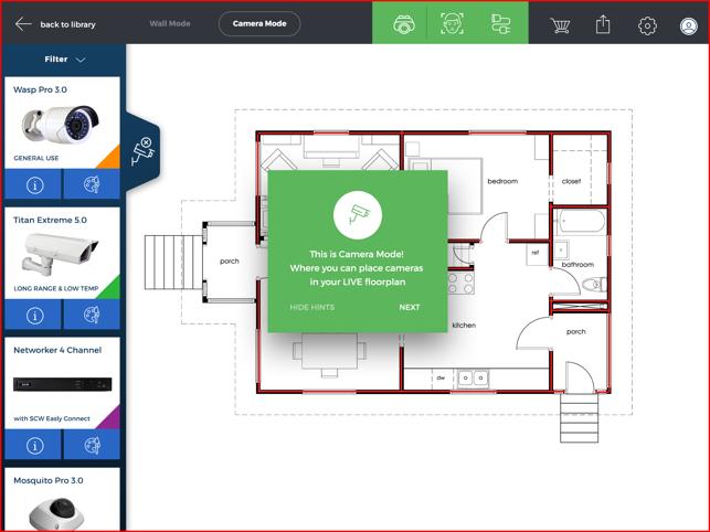Scw Surveillance Floor Plan Designer On The App Store
