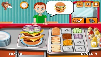Burger Shop Make Yummy Burger screenshot one