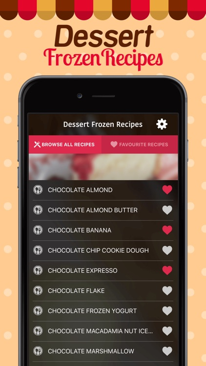 Dessert Frozen Recipe