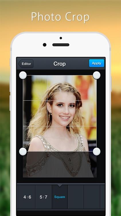 Image Editor - Filters Sticker screenshot-4
