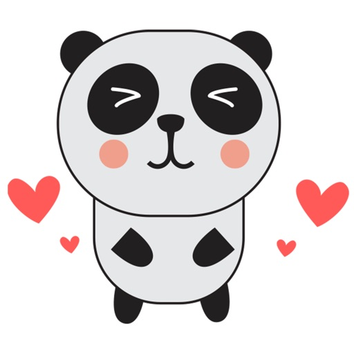 PandaMoji - Panda Stickers for iMessage