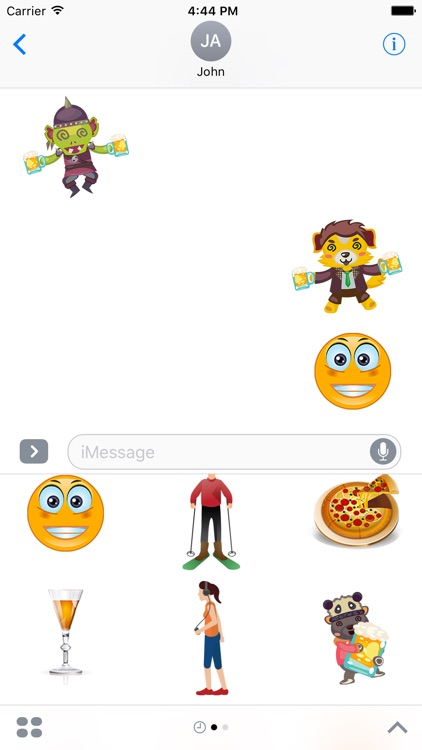 Erasmoji - Stickers for erasmus students screenshot-3