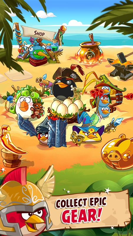 Angry Birds Epic RPG Online Hack Tool