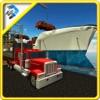 火车运输船 - 卡车运输游戏