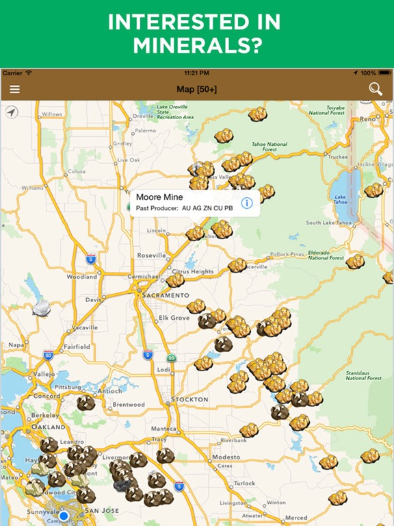 Digger\'s Map: Find Minerals | App Price Drops