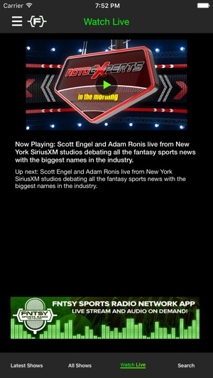 c67eee15562 The Fantasy Sports Network on the App Store
