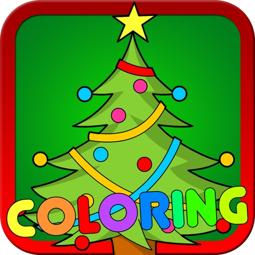 Kids Christmas Coloring Pages Free Santa Claus And Christmas Tree Coloring Book By Touchzing Media