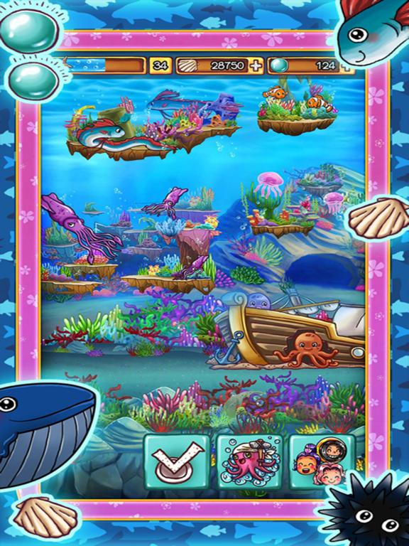 Aquarium Island: Build kingdoms of happy ocean life animal screenshot
