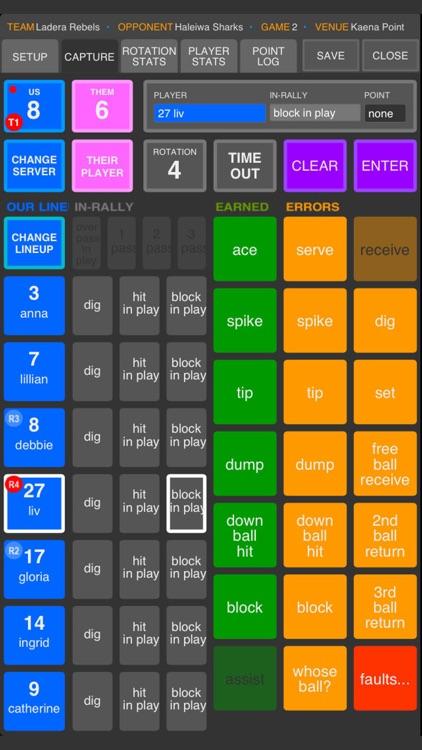 SoloStats 123 Volleyball screenshot-3