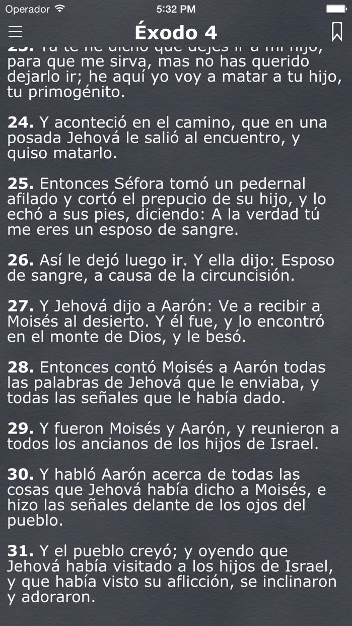 La Biblia Reina Valera Español Screenshot