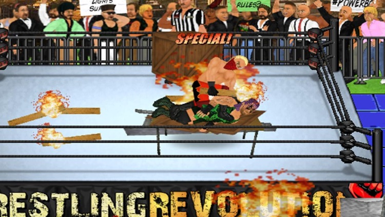 Wrestling Revolution screenshot-3