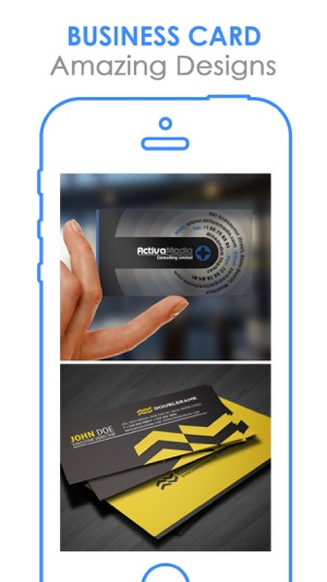 free business cards design best bizcard catalog on the app store