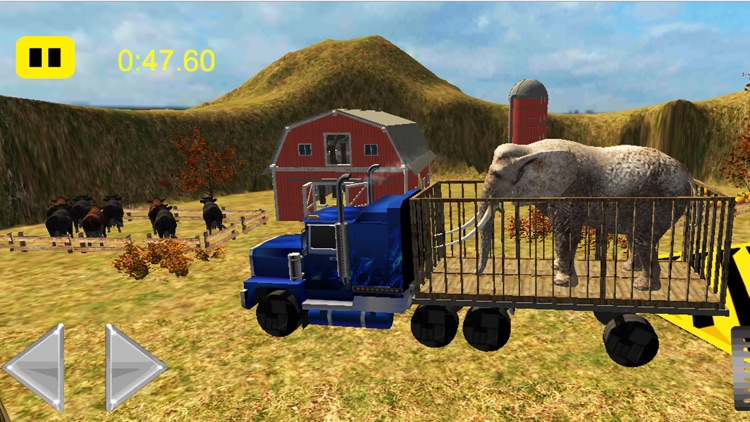Animals Transport Truck Driver Simulator 2016 screenshot-4