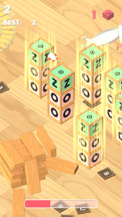 Overleap - free endless jump game about toys screenshot-3