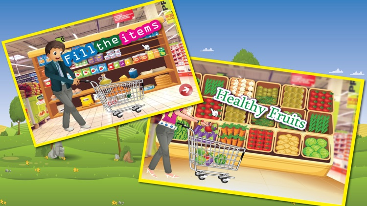 Supermarket boy food shopping - A crazy market cleanup & grocery shop game screenshot-3