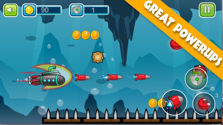 Submarine Adventure: Under The Water Ocean Game