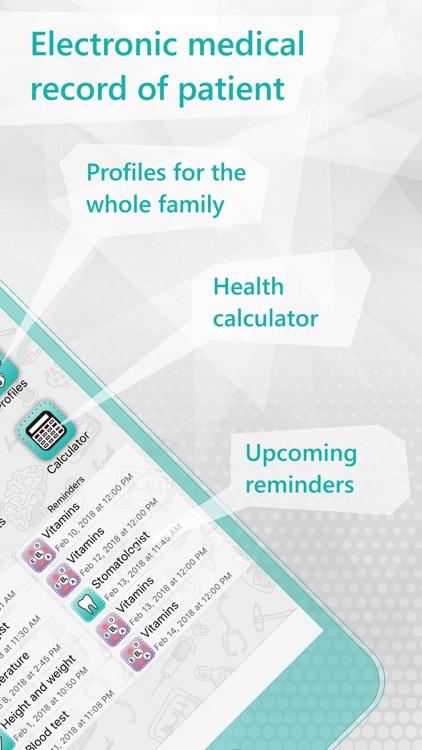 Health Record - EHR , EMR