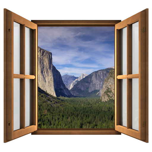 Magic Window - Yosemite National Park