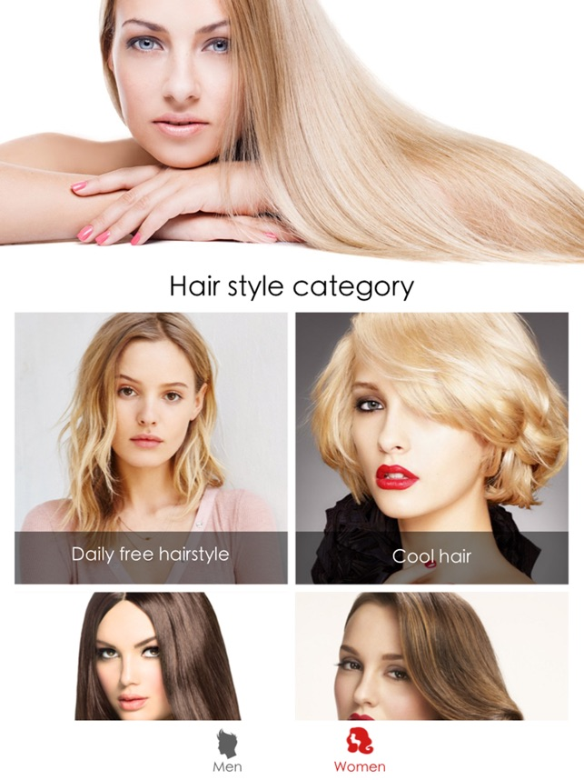 Hair Style Salon&Color Changer on the App Store