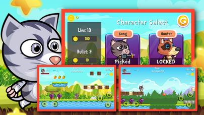 Super My Cat Hero : A Funny Fight adventure game for kids screenshot three