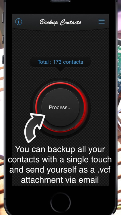 Backup Contacts ( save , export and restore ) screenshot-3