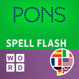 PONS SpellFlash – the language game for English, Spanish, French, Italian and German
